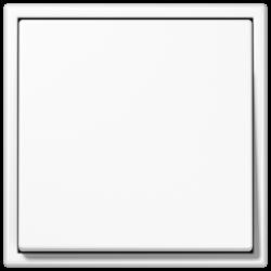 Włącznik uniwersalny pojedynczy, biały, JUNG LS