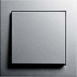 Gira E2 - Włącznik pojedynczy uniwersalny (schodowy) aluminium - komplet