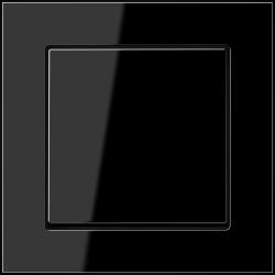 Jung Acreation włącznik czarny w połysku uniwersalny. KOMPLET