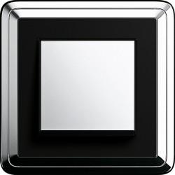 Gira ClassiX chrom czarny - Łącznik pojedynczy uniwersalny - KOMPLET