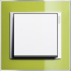 Łącznik uniwersalny Komplet biały/zielony Gira Event Clear