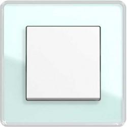 Gira Esprit Szkło C seledynowy biały łącznik uniwersalny - KOMPLET
