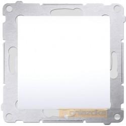 Przycisk zwierny pojedynczy biały Simon 54 Premium