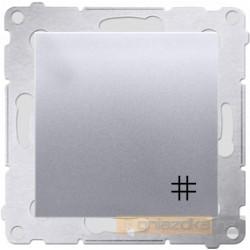 Łącznik krzyżowy srebrny mat Simon 54 Premium