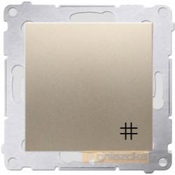 Łącznik krzyżowy złoty Simon 54 Premium