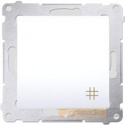 Łącznik krzyżowy podwójny biały Simon 54 Premium