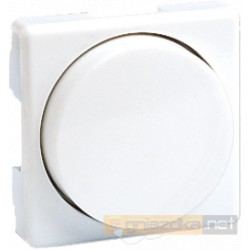 Ściemniacz obrotowy 40-500W/VA biała Simon 27 Play