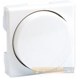 Ściemniacz obrotowy 40–300 W/VA do świetlówek z regulowanym balastem biała Simon 27 Play