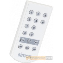 Pilon zdalnego sterowania na podczerwień biały Simon 27 Play