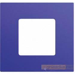 Nakładka 1-krotna niebieska metalizowana Simon 27 Play