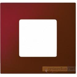 Nakładka 1-krotna czerwona metalizowana Simon 27 Play