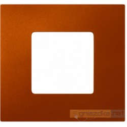 Nakładka 1-krotna pomarańczowa metalizowana Simon 27 Play
