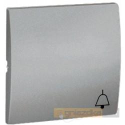 Przycisk zwierny pojedynczy aluminiowy metalizowany Simon Classic