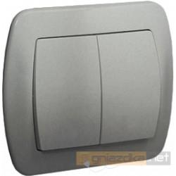 Łącznik świecznikowy aluminiowy metalizowany Akord