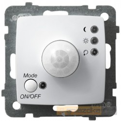 Elektroniczny czujnik ruchu, bez ramki biały Karo Ospel