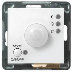 Elektroniczny czujnik ruchu, bez ramki biały Sonata Ospel