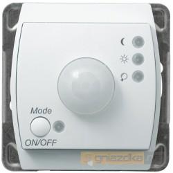 Elektroniczny czujnik ruchu, bez ramki biały Gazela Ospel