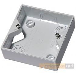 Puszka instalacyjna do łączników biały Akcent Ospel