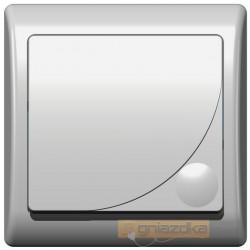 Łącznik jednobiegunowy biały Efekt Ospel