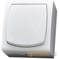 Łącznik jednobiegunowy biały Madera Ospel