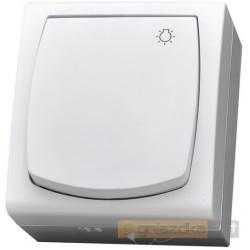 Łącznik zwierny światło biały Madera Ospel