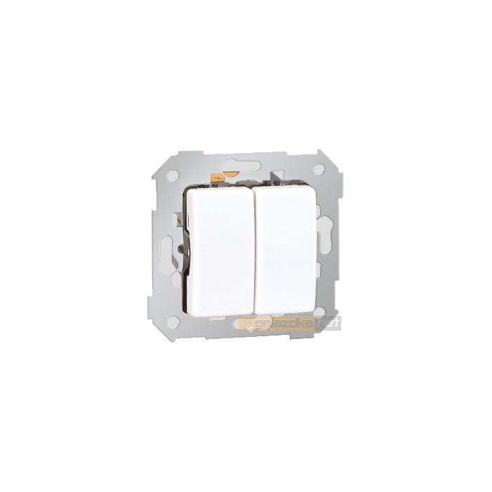 Łącznik świecznikowy biały Simon 27 Play