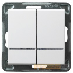 Łącznik kontrolny biały Sonata Ospel