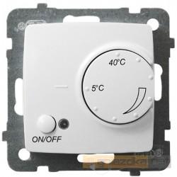 Regulator temperatury z czujnikiem nap biały Karo Ospel