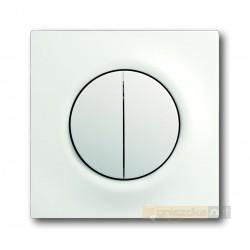Łącznik sekwencyjny świecznikowy biały studyjny mat Impuls ABB