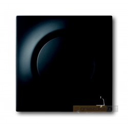 Przycisk sekwencyjny 1-biegunowy czarny matowy Impuls ABB