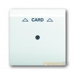 Łącznik hotelowy na kartę biały alpejski Impuls ABB