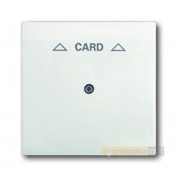 Łącznik hotelowy na kartę biały studyjny mat Impuls ABB