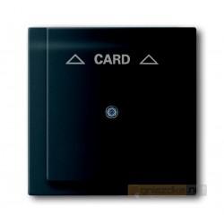 Łącznik hotelowy na kartę czarny matowy Impuls ABB