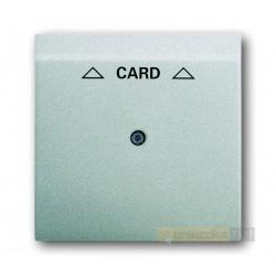 Łącznik hotelowy na kartę aluminiowo srebrny Impuls ABB