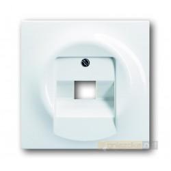 Gniazdo telefoniczne RJ11 biały alpejski Impuls ABB