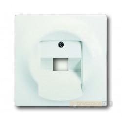 Gniazdo telefoniczne RJ11 biały studyjny mat Impuls ABB