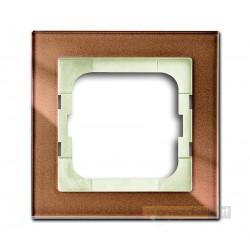 Ramka 1-krotna brązowy Axcent ABB