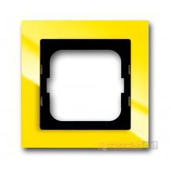 Ramka 1-krotna żółty Axcent ABB