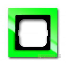 Ramka 1-krotna zielony Axcent ABB