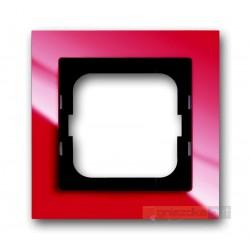 Ramka 1-krotna czerwony Axcent ABB