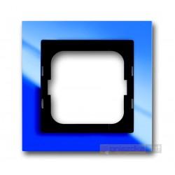 Ramka 1-krotna niebieski Axcent ABB