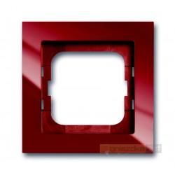 Ramka 1-krotna czerwony-foyer Axcent ABB