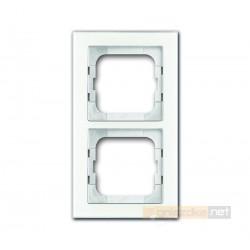 Ramka 2-krotna biały Axcent ABB