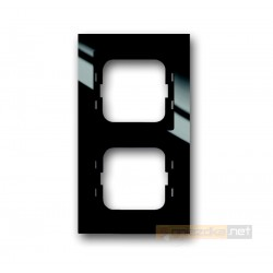 Ramka 2-krotna czarny Axcent ABB