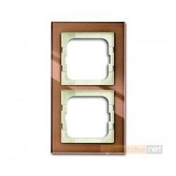 Ramka 2-krotna brązowy Axcent ABB