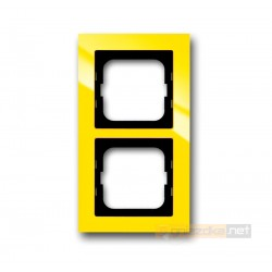 Ramka 2-krotna żółty Axcent ABB