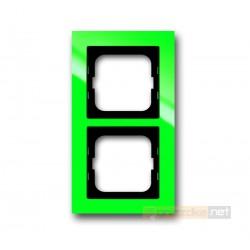 Ramka 2-krotna zielony Axcent ABB