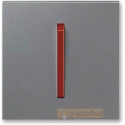 Przycisk zwierny stalowy terakota NEO ABB