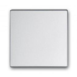 Łącznik pojedynczy schodowy aluminiowo srebrny Future ABB