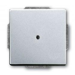 Zaślepka aluminiowo srebrny Future ABB